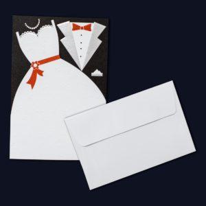 """Προσκλητήριο Γάμου """"ΝΥΦΗ & ΓΑΜΠΡΟΣ"""""""