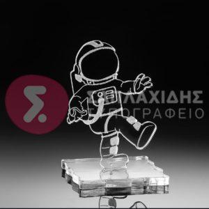 Plexiglass Αστροναύτης