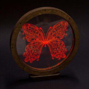 Φωτιστικό Plexiglass μέχρι 16x23cm