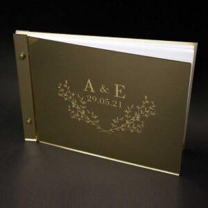 Βιβλίο Ευχών Γάμου - Βάπτισης Plexiglass